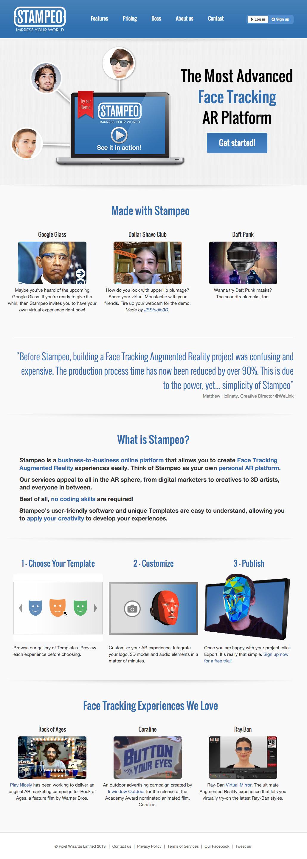 stampeo-website